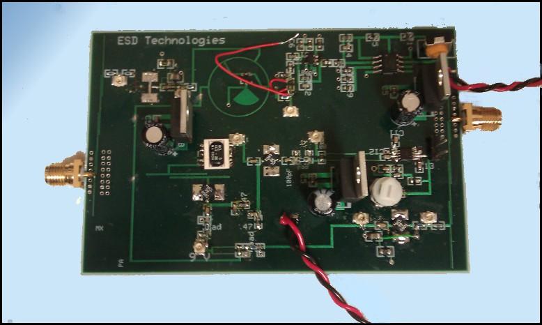 Doppler Radar PCB